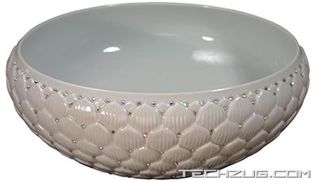 Swarovski Crystal Sinks by Linkasink