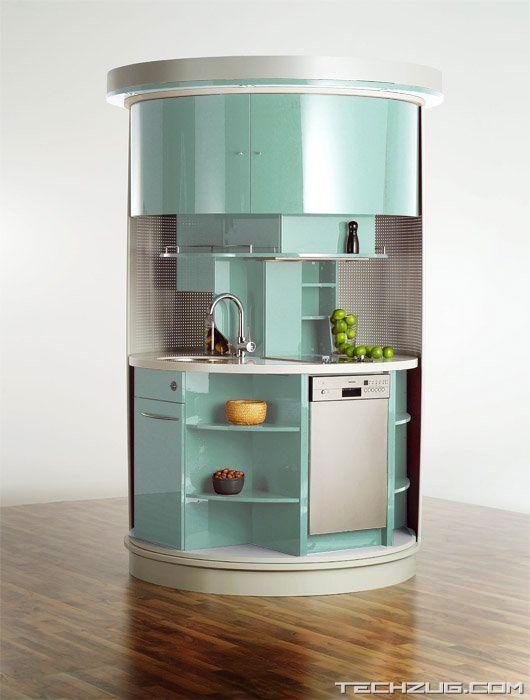 Amazing Movable Mini Kitchen