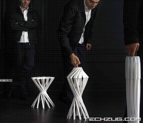OneShot - Folding Chair by Patrick Jouin
