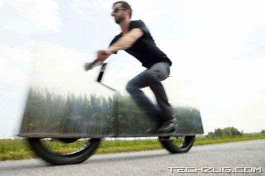 Amazing Invisible Motorcycle