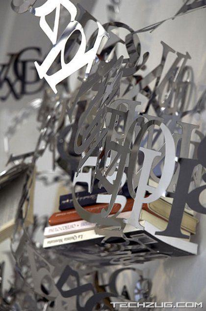 Between the Lines Designer Shelf