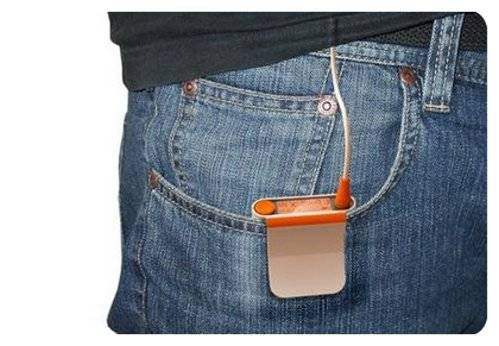 Amazing Trouser Pocket Mp3 Player