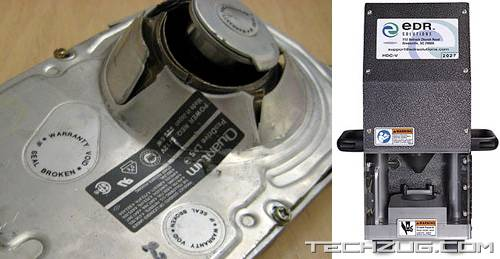 Hard Disk Crusher - That's What It Is, That's What It Does
