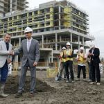 Medallion Corporation about to start work on second tower of massive project in downtown Ajax