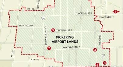 pickering airport