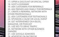 Helpful Marketing Habits