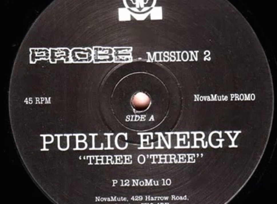 THROWBACK THURSDAY: Public Energy - Three 'O Three [1992]
