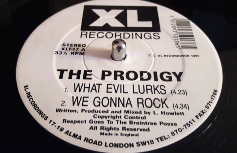 The Prodigy's What Evil Lurks was released on this day in 1991