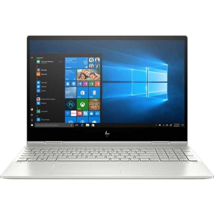 "HP ENVY x360 Convertible 15-dr1075cl 15.6"" 2-in-1 Laptop Computer Refurbished - Silver; Intel Core i7-10510U Processor - Micro Center"