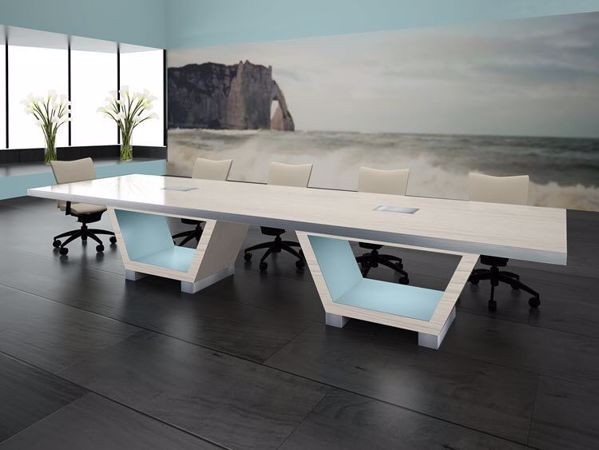 la jolla modern conference table 90