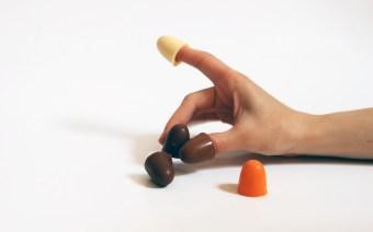 Dedales de chocolate, ¡para chuparse los dedos!