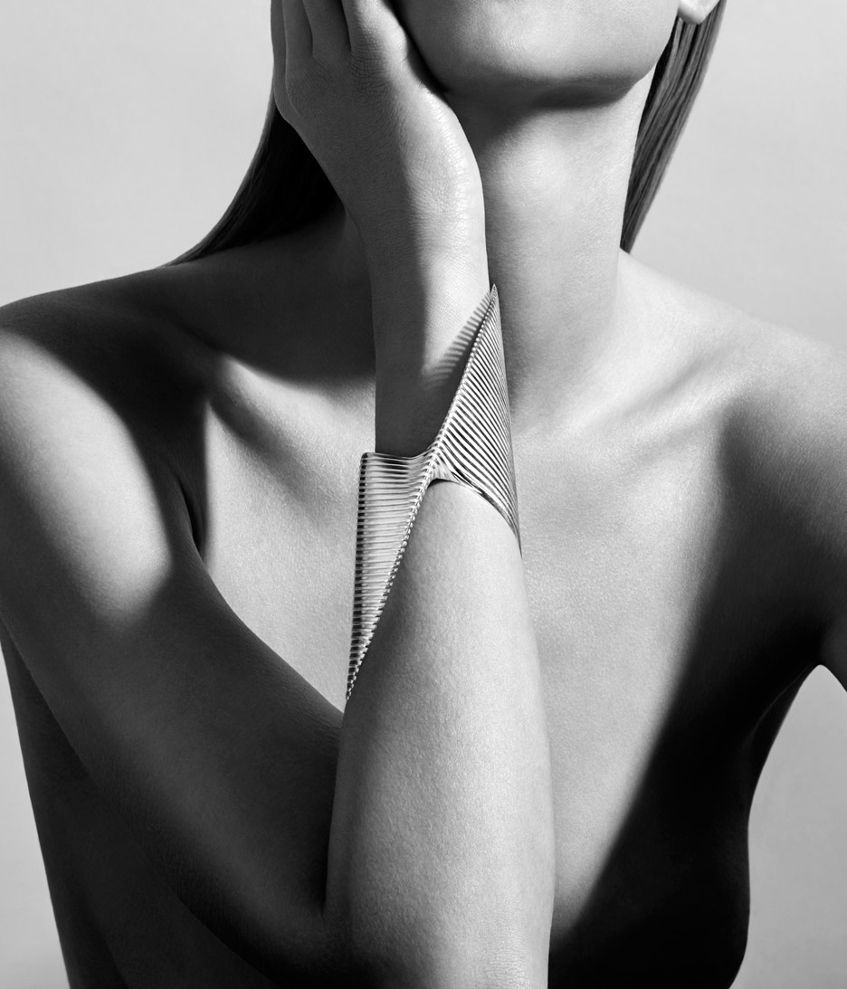 zaha hadid for georg jensen Cuff