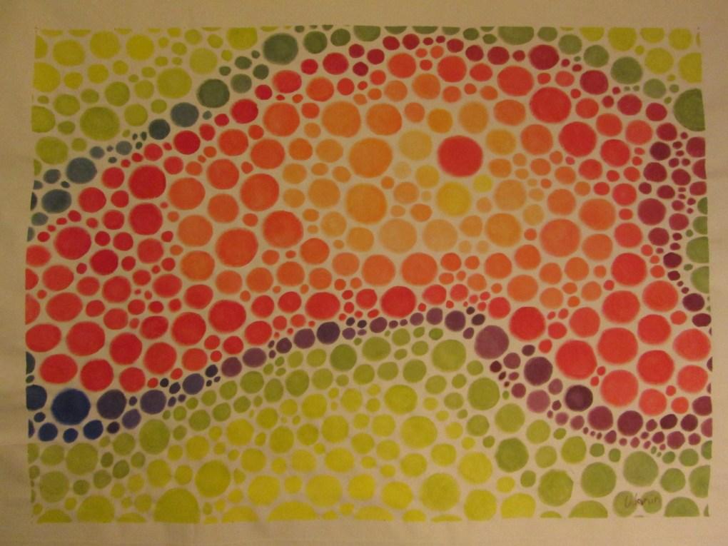 """Patrick Urbain. Liberación. Serie """"Résille"""" (Versión Abstracta). Acrílico sobre lienzo. 40"""" x 54"""""""