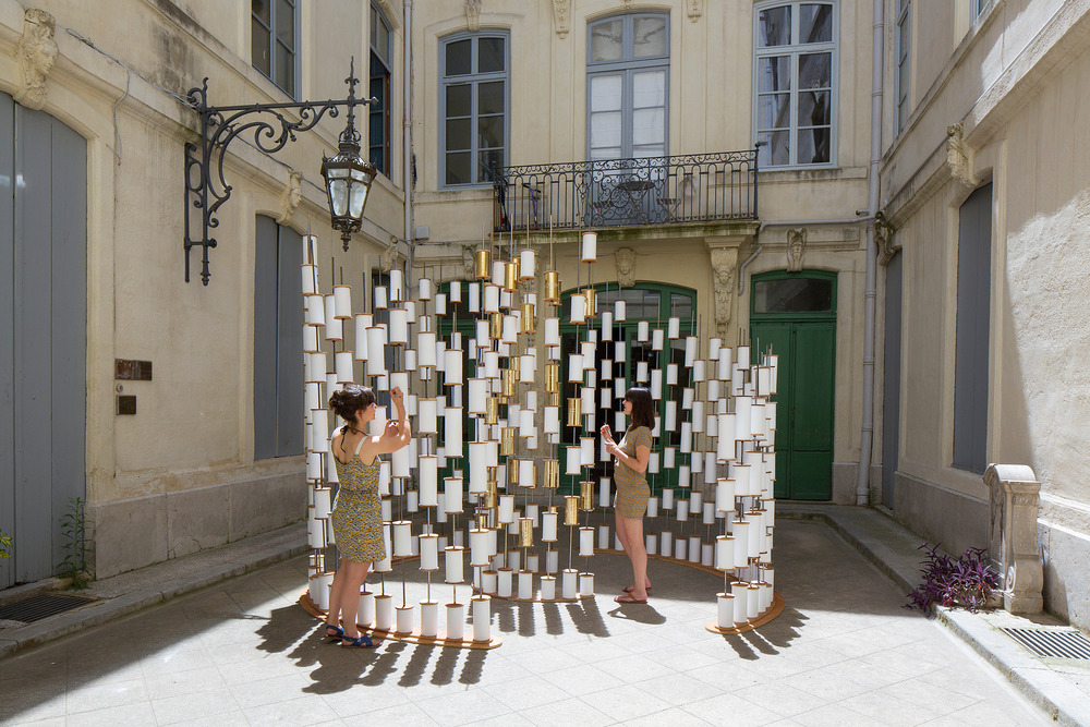 Paradigmes Judith Chatain, Gabrielle Doublet y Audrey Farinole Foto: Paul KOZLOWSKI