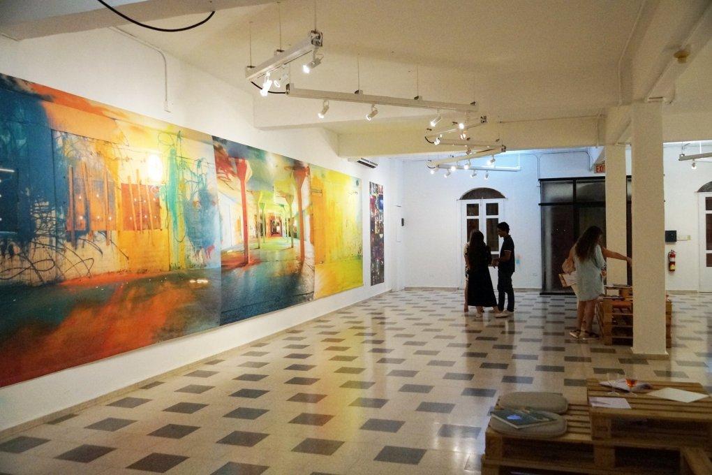 """Exposición """"Dorado a color y el Proyecto Kalaña"""" de Sofía Maldonado. Sala de Exposiciones del Plata. Foto: arte_FITS Foundation"""