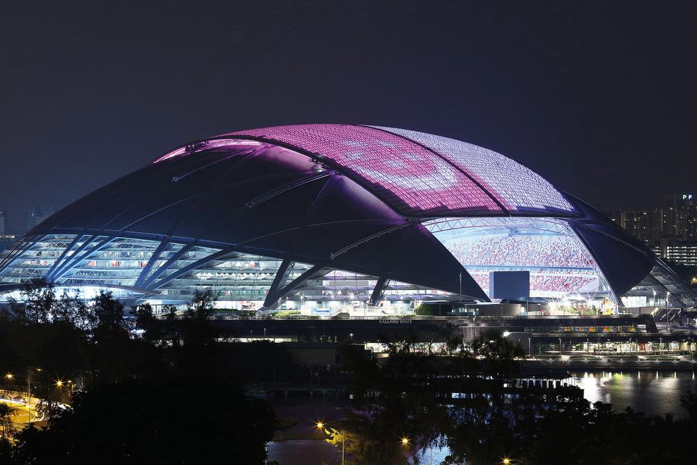 Estadio Nacional de Singapur Foto: Arup Associates