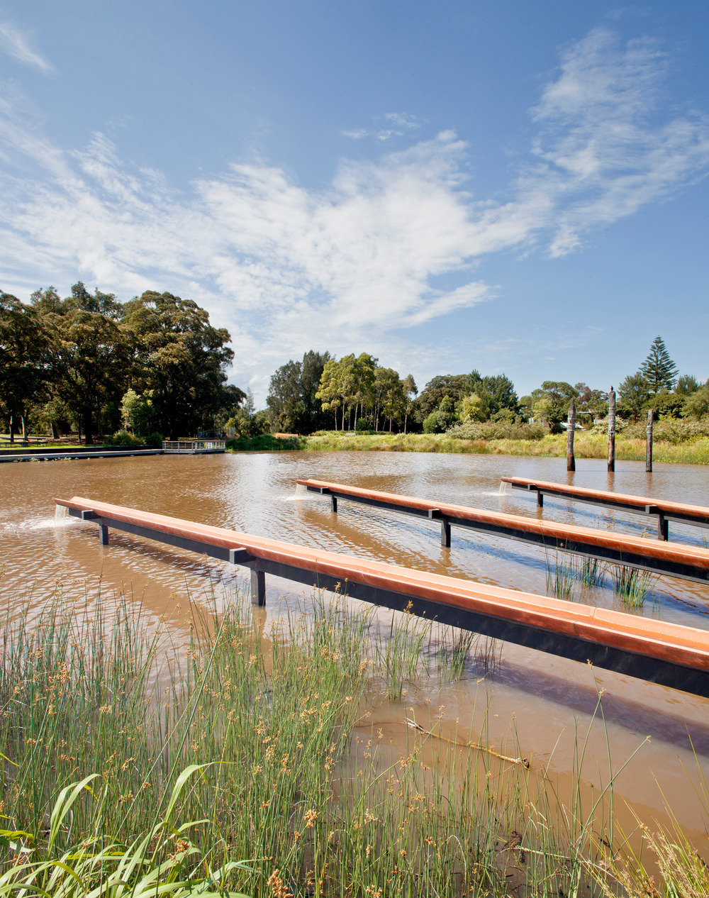 Turf Design Studio & Environmental Partnership with Alluvium, Turpin + Crawford Studio, Dragonfly Environmental and Partridge – Sydney Park Water Re-use Project Foto: Ethan Rohloff