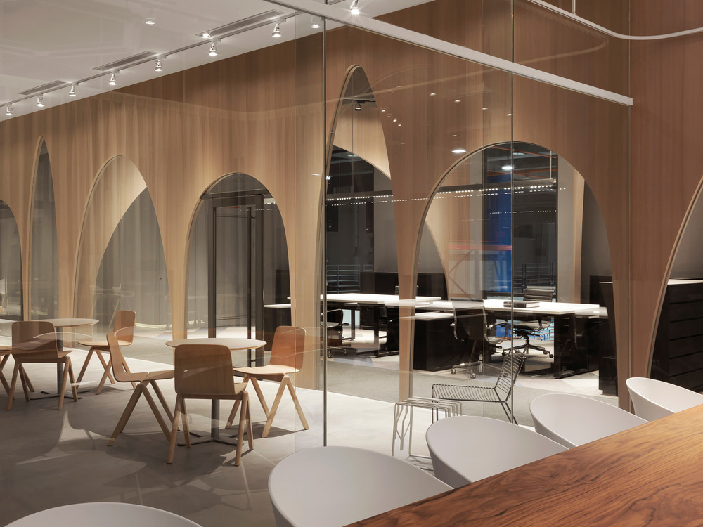 J.C.Architecture - Oficina H&M Taiwán. Foto: Kevin Wu