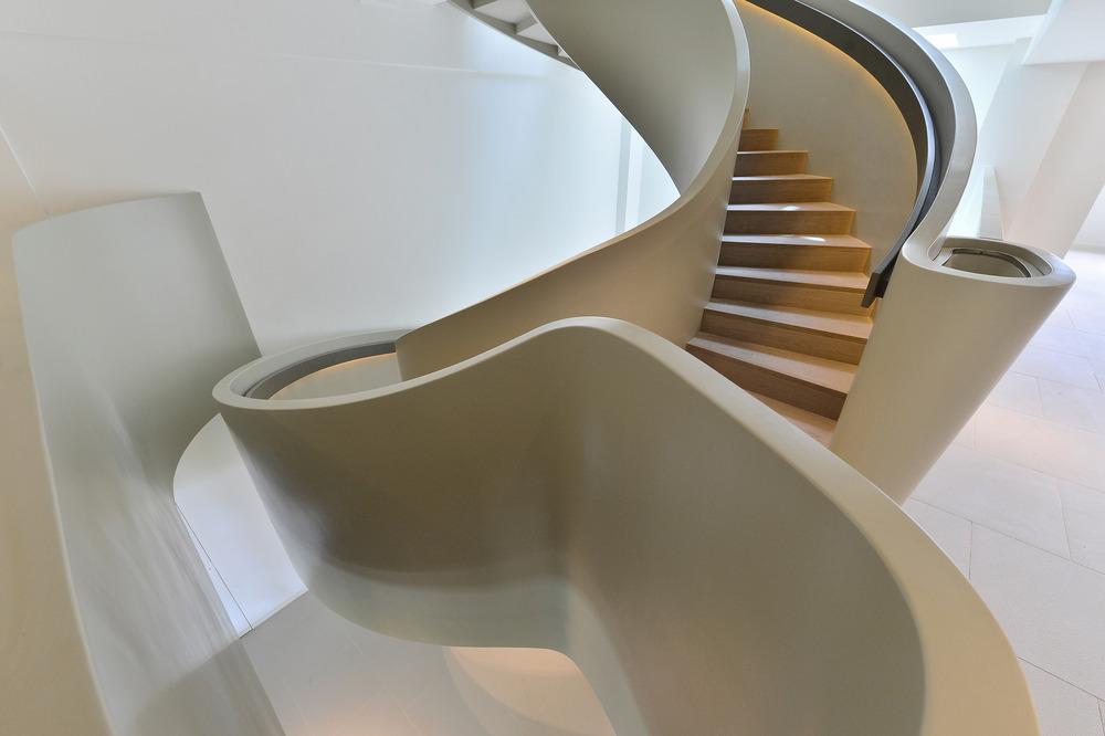 Detalle de escalera. Foto: FAK3