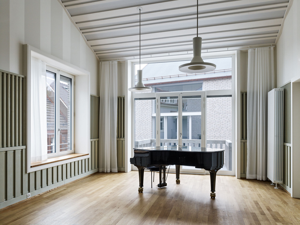 Salón de ensayo. Diseño: Buol & Zünd Foto: Georg Aerni