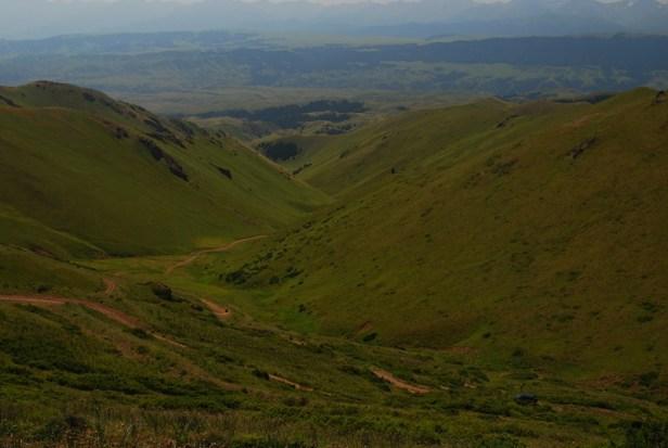 Talfahrt 500 Höhenmeter auf 4 Kilometer