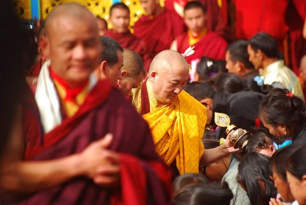 Segnung zum Neujahr vom 12. Rinpoche