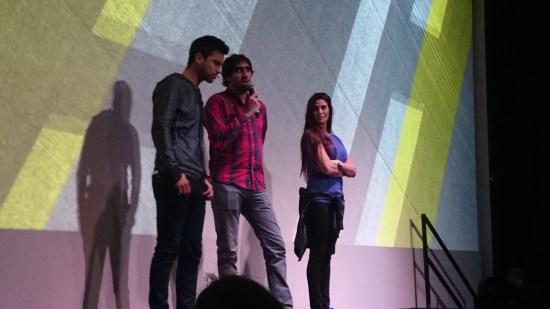 """Leandro """"Chino"""" Leunis e Ivana Nadal junto a Nicolás Ferrara, Brand Marketing Manager de adidas."""