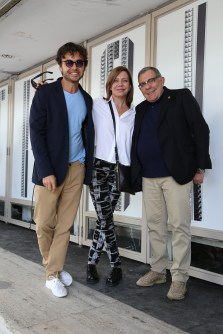 Wally Diamante, Cecilia Roth y Juan Gatti