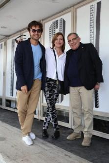 Wally Diamante, Cecilia Roth y Juan Gatti