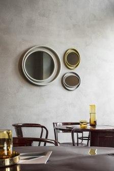 EYESHINE mirrors de Anki Gneib para Thonet