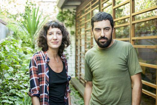 Marcela Coppari y Agustín Barrionuevo, En Bruto