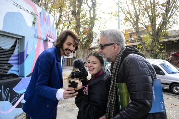 Gonzalo Fargas, Josefina Fógel Núñez y Paul Fava. Foto: Adri Godis