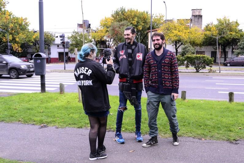 Josefina Fogel Núñez, Paul Fava y Matías Naje. Foto: Adri Godis @adrigodis