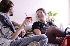 Paul Fava y Josefina Fogel Nuñez. Foto: Adri Godis