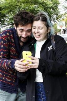 Matías Najle y Josefina Fogel Núñez. Foto: Adri Godis