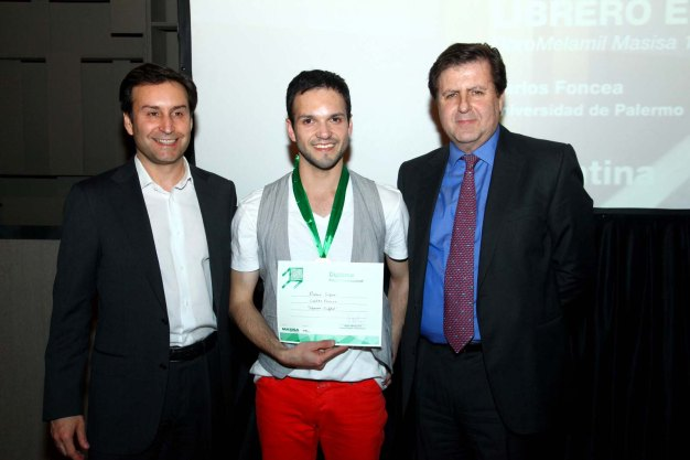 Carlos Foncea Maturana, ganador 2012