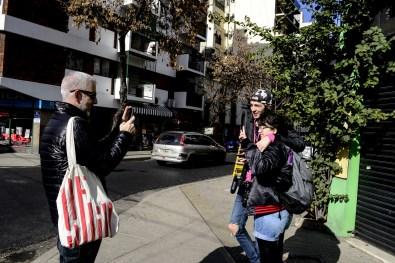 Gonzalo Fargas, Paul Fava y Josefina Fogel Nuñez. Foto: Adri Godis