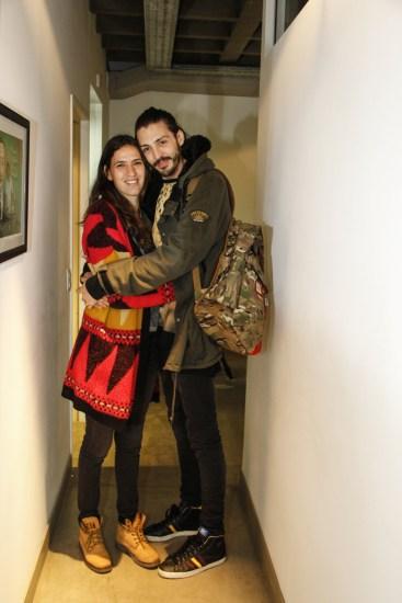 Agustina Tafet y Paul Fava. Foto: Adri Godis