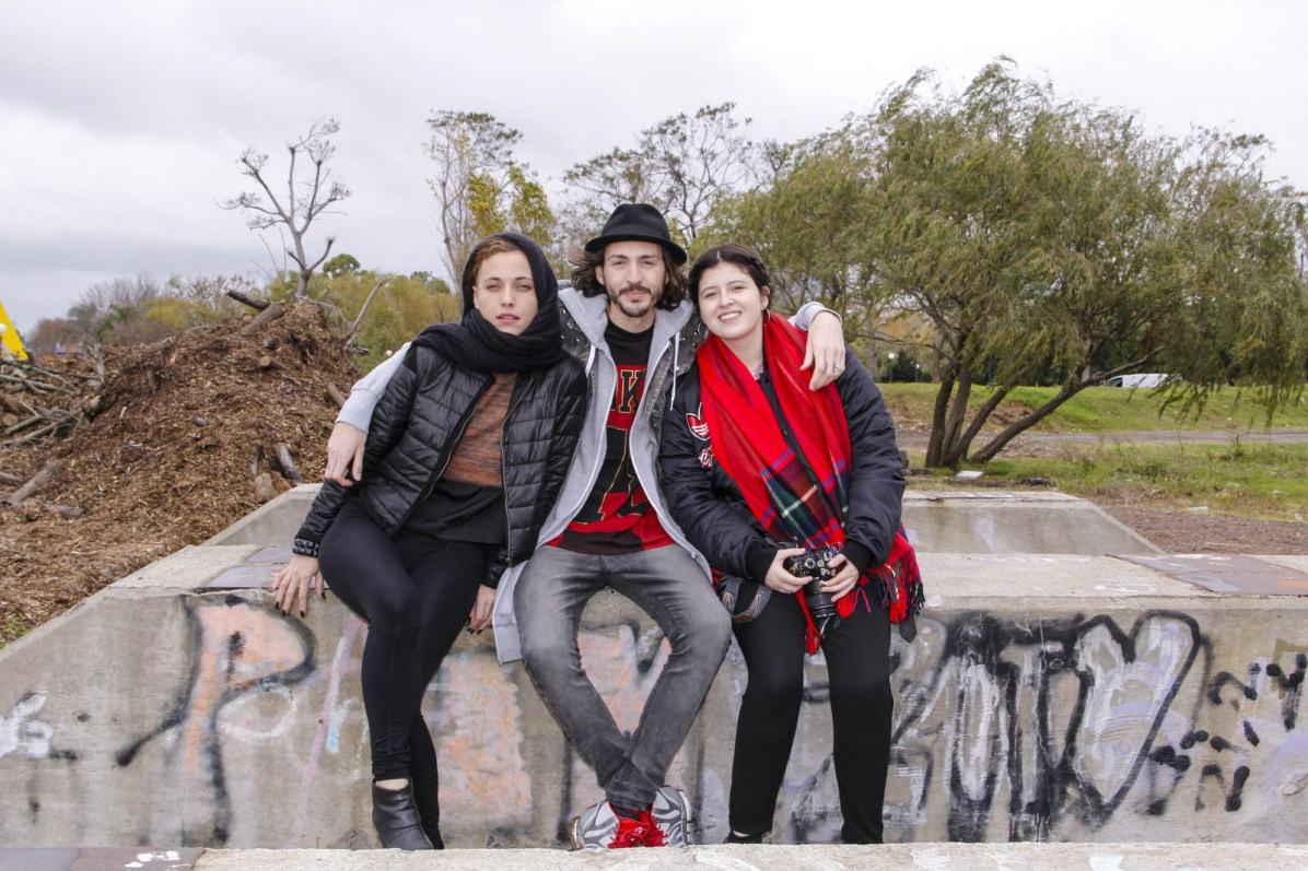Sol del Río, Paul Fava y Josefina Fogel Nuñez. Foto: Adri Godis