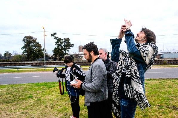 Martín Huberman, Paul Fava, Josefina Fogel Nuñez y Gonzalo Fargas. Foto: Adri Godis