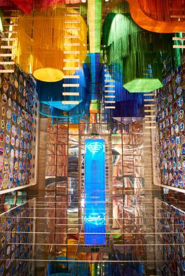 1º London Design Biennale. Instalación India. Foto: Bradley Lloyd Barnes