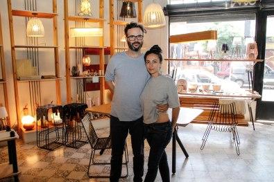 Patricio Lix Klett y Celeste Bernardini. Foto: Adri Godis