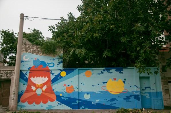 Pum Pum. Mural en Córdoba - Oficio. Foto: Agostina Orlandi