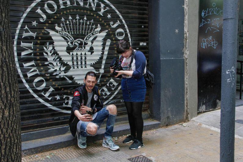 Paul Fava y y Josefina Fogel Nuñez. Foto: Adri Godis