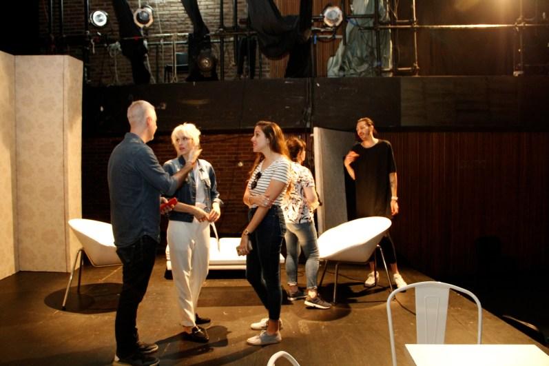 Gonzalo Fargas, Brenda Gandini, Gala Décima Kozameh, Josefina Fogel Nuñez y Paul Fava. Foto: Adri Godis