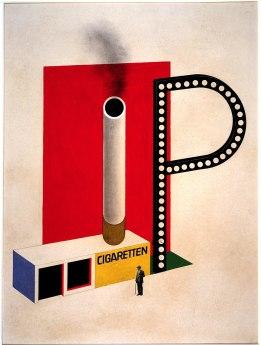 Herbert Bayer_1924_Bauhaus Archive Berlin. Foto: Hermann Kiessling