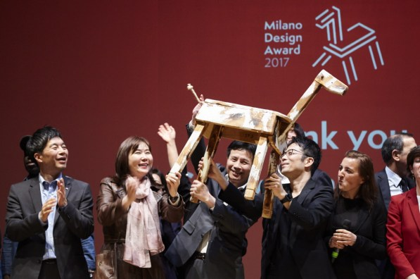 Yoshioka recibe el Milano Design Award
