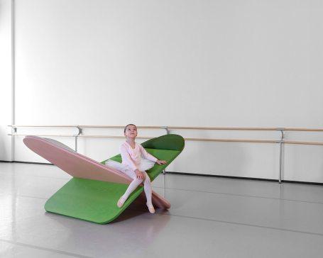 Asiento Daydream de estudio Joynout. Foto: Francesco Bolis