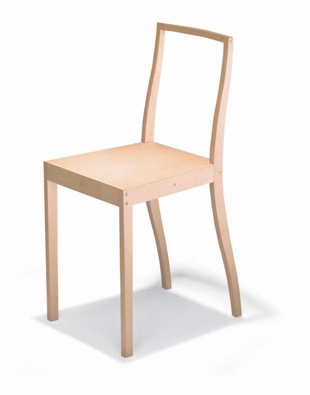 Jasper Morrison, Plywood Chair, 1988 produced by Vitra. Foto: Studio Frei