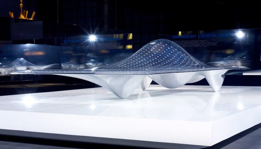 Swarovski Crystal Aerospace Car - Ross Lovegrove